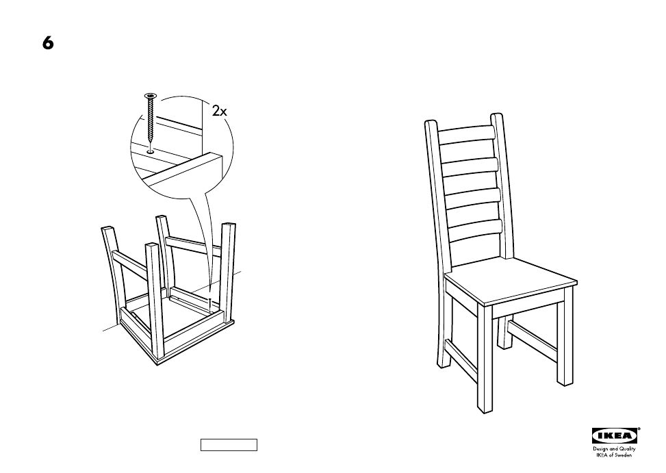 Ikea Kaustby Chair Assembly Instruction Free Pdf Download 4 Pages
