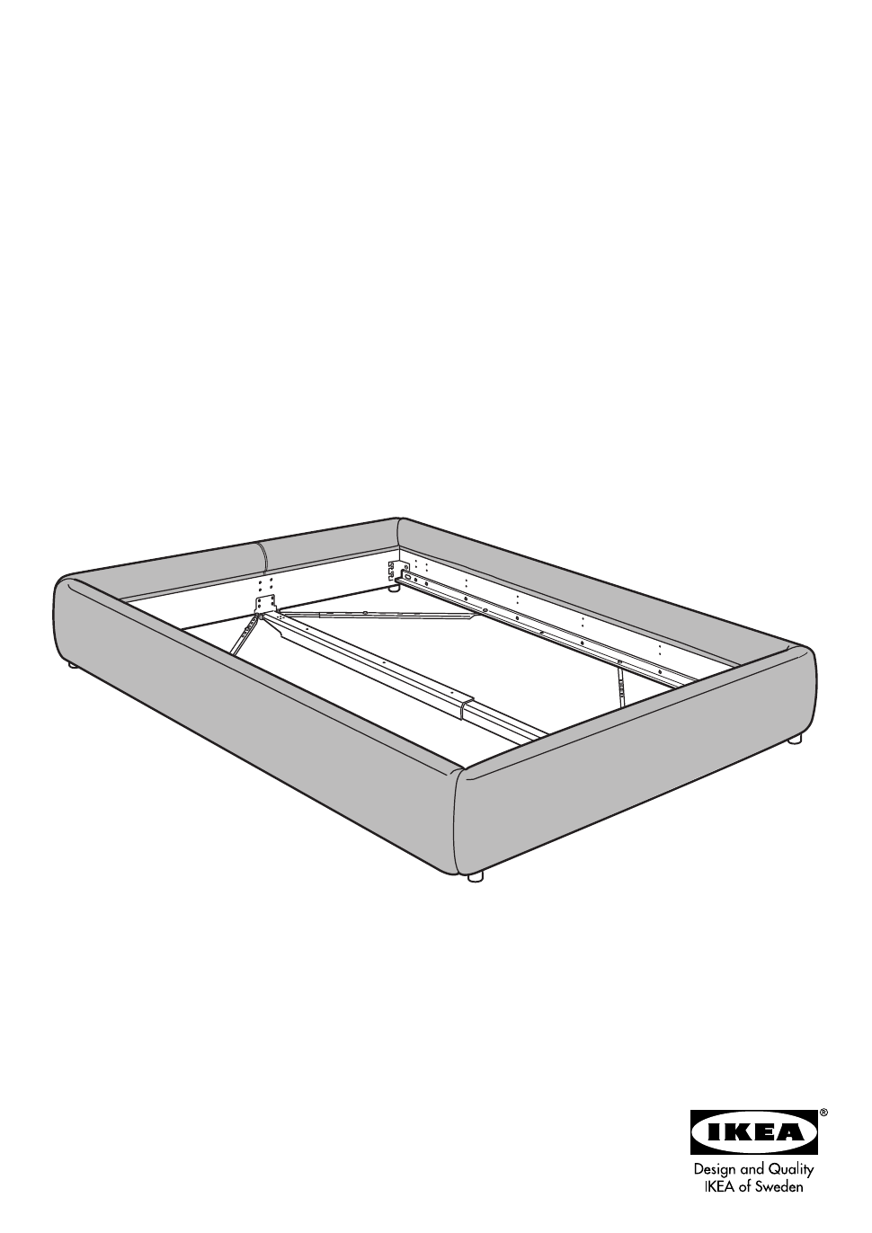 IKEA GRIMEN BED FRAME FULL & QUEEN Assembly Instruction - Free PDF ...