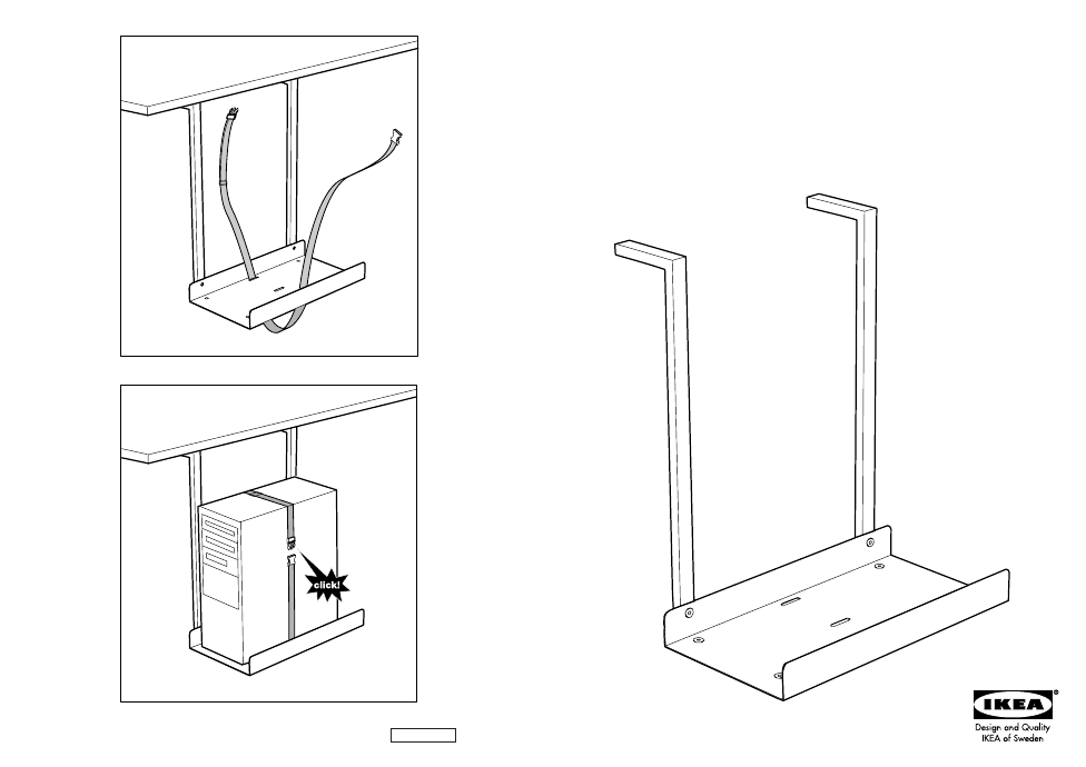 Ikea Summera Computer Holder Assembly Instruction Free Pdf Rh Manualagent Com Baby Crib Manuals Malm Bed