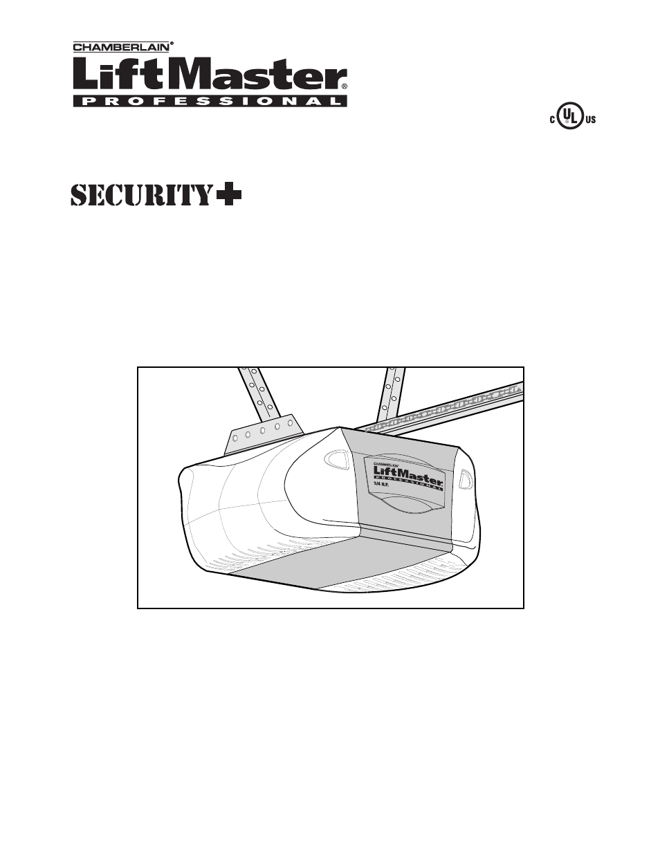 Download Chamberlain garage door opener owner's manuals