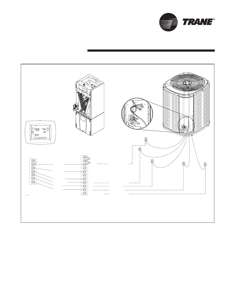 Trane outdoor Unit Service manual is also known as