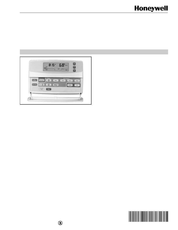 honeywell chronotherm iv plus manual pdf