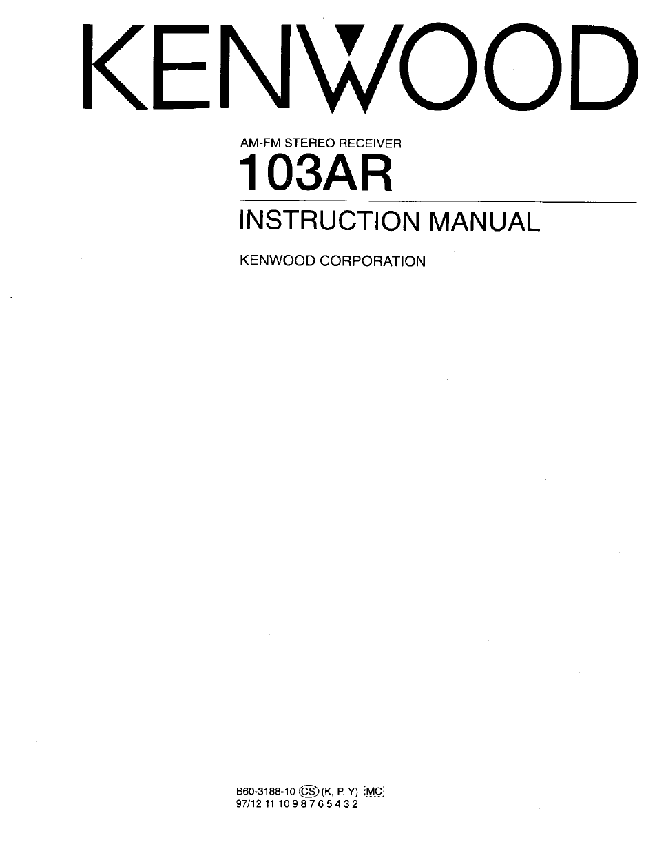 Instruction Manual Kenwood Stereo 1996 Oldsmobile Achieva 24 Pin Connector Fuse Box Diagram Array 376 User U0027s Free Pdf Download 19 Pages Rh Manualagent Com