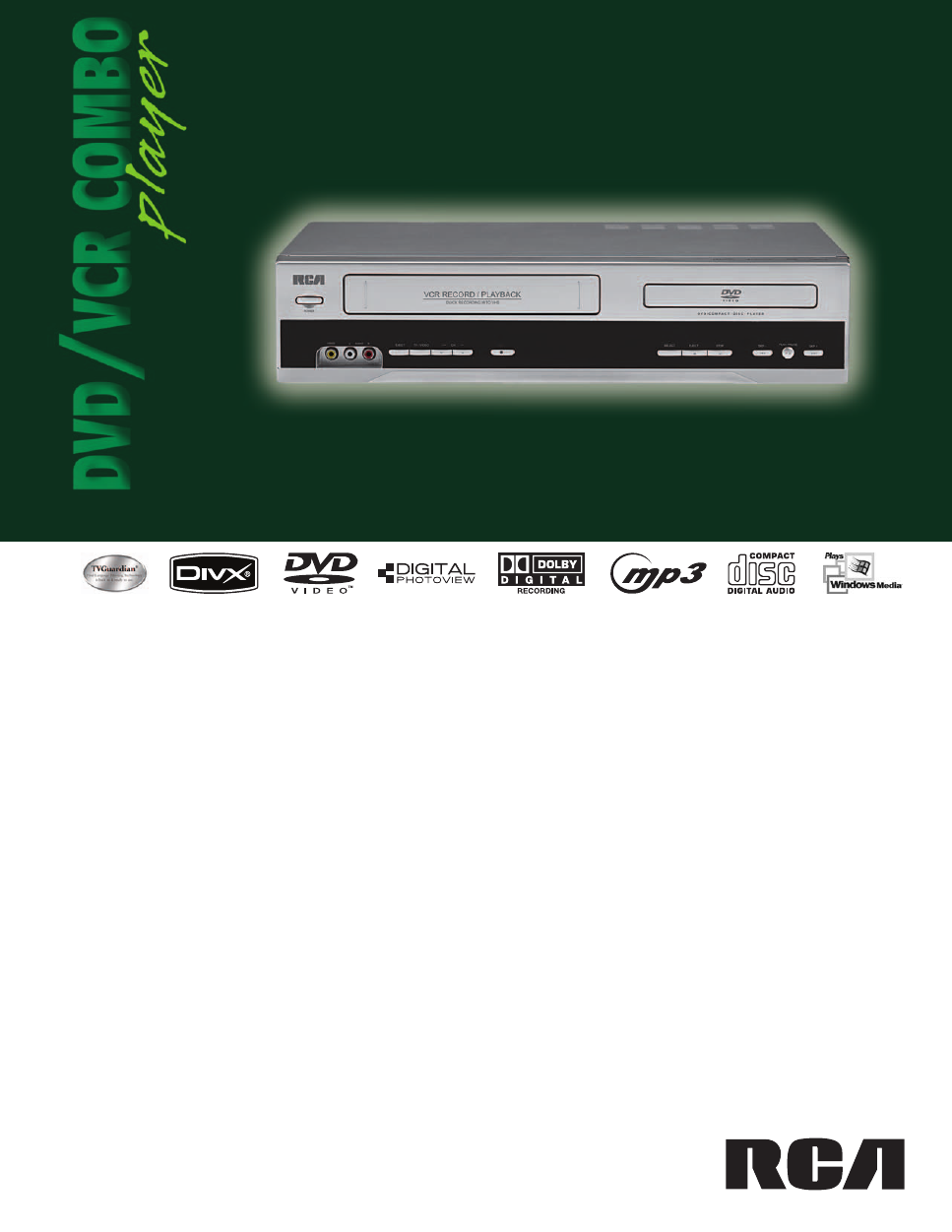 RCA DRC6355N User's Manual - Free PDF Download (2 Pages)