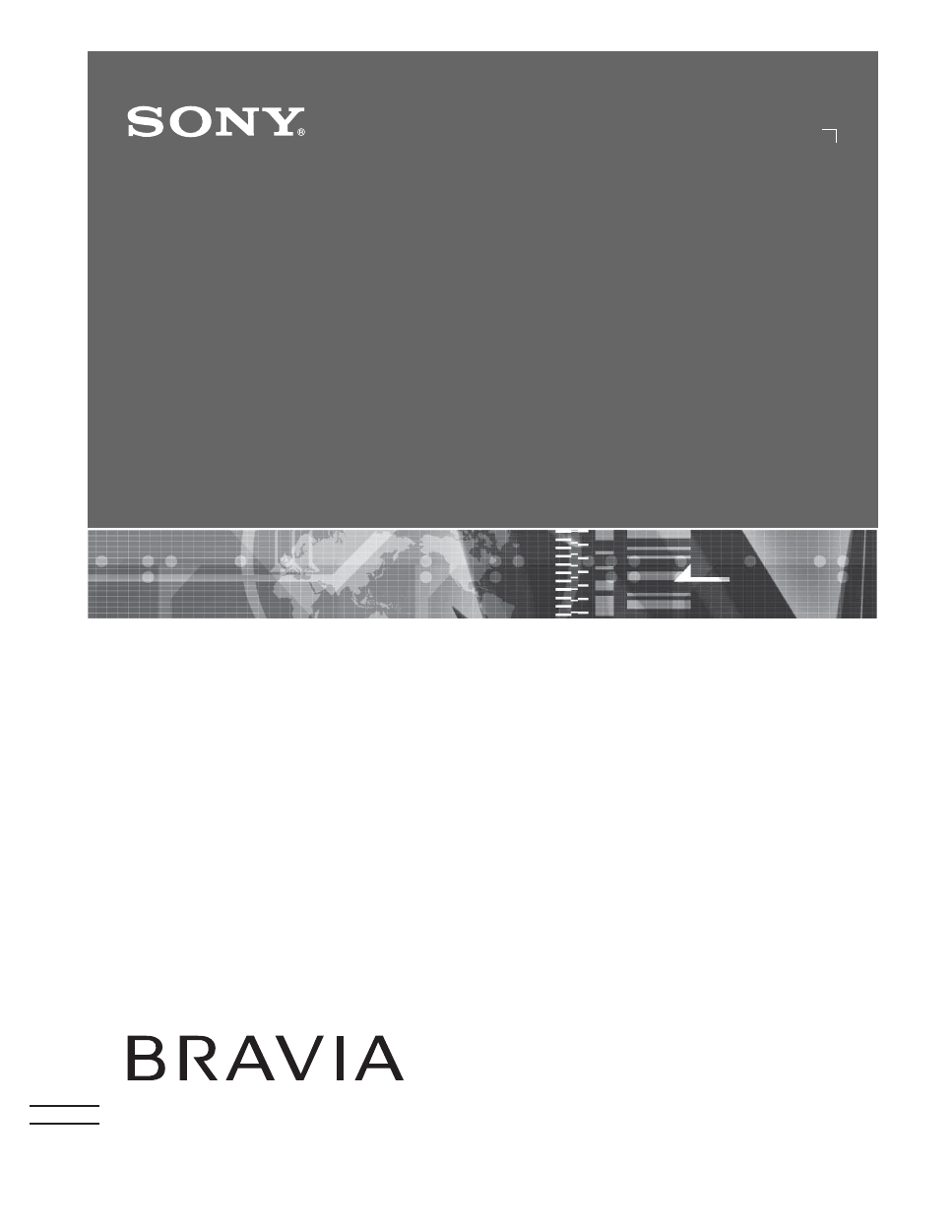 I manual For sony bravia Tv