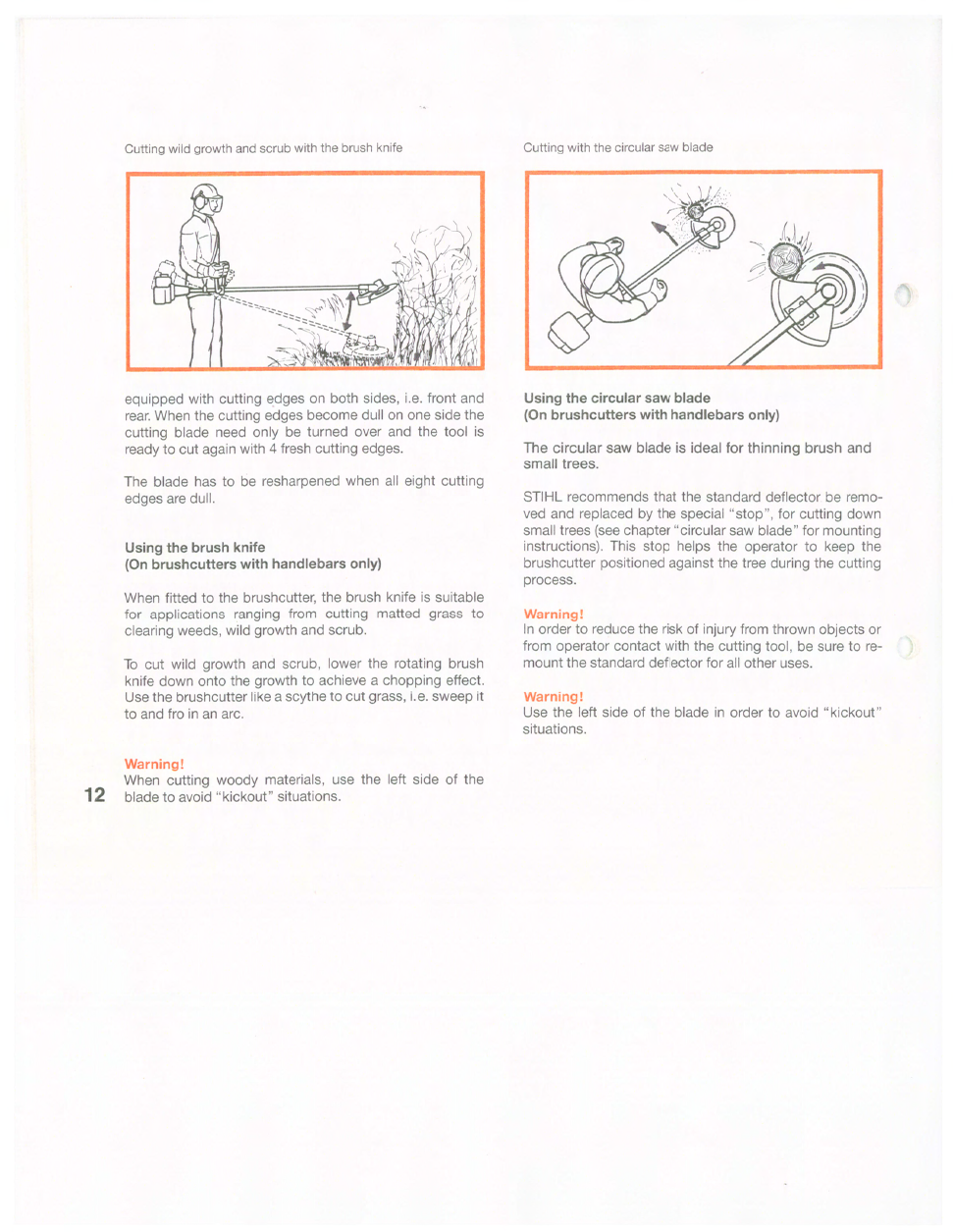 STIHL FS 160 Owner's Manual | Page 13 - Free PDF Download