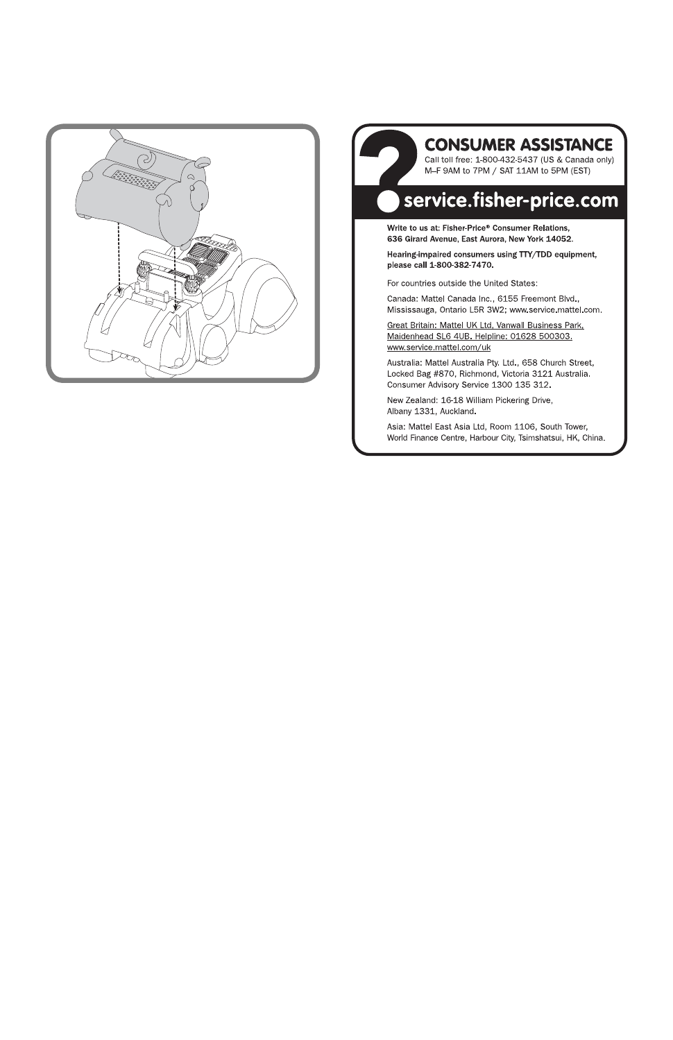 background image Array - fisher price c5843 user u0027s manual page 4 free  pdf download 4 pages rh