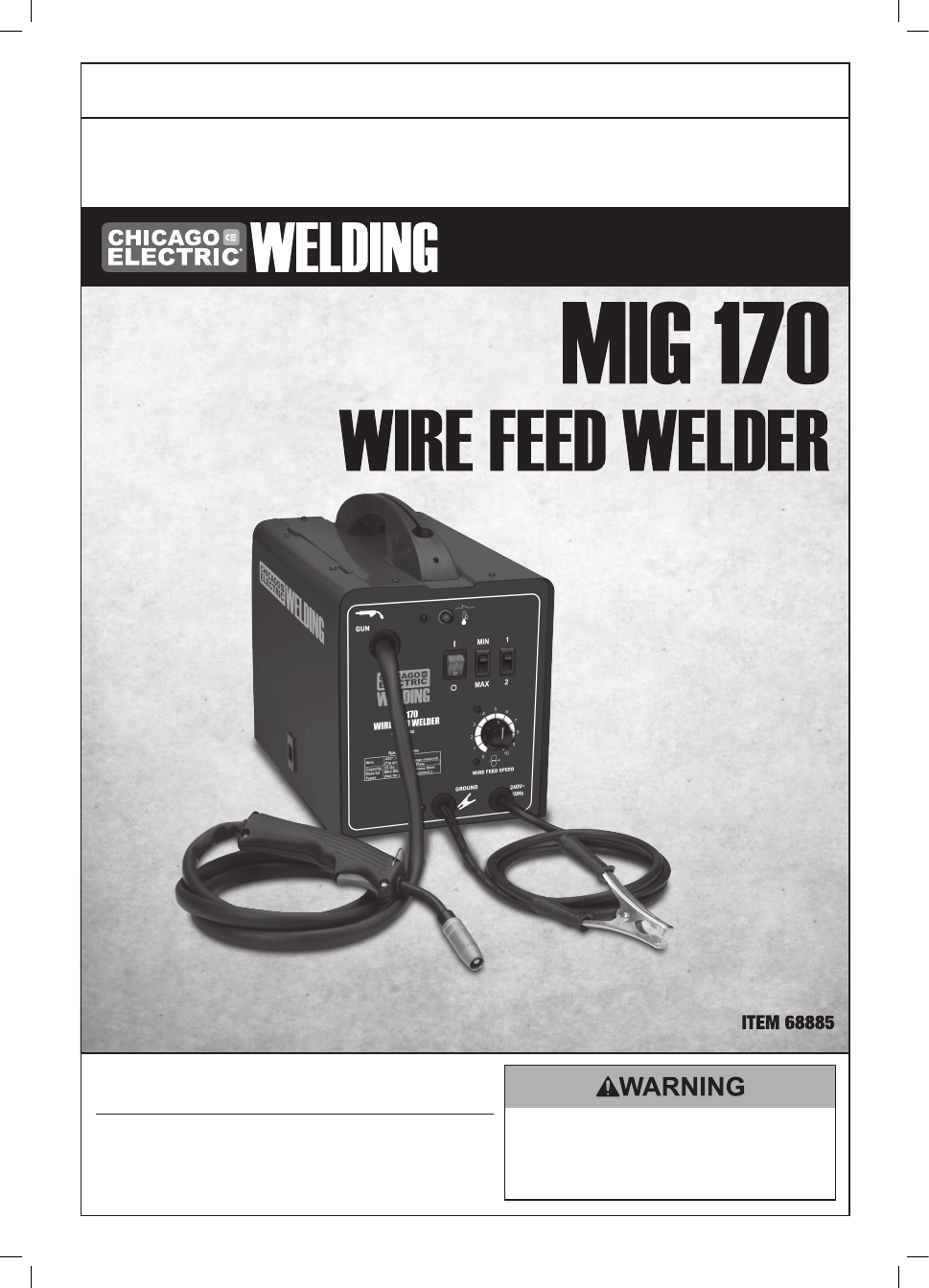 Chicago Electric Welder 68887 Manual Good Owner Guide Website \u2022 Basic Wiring  Welder Chicago Electric Welder Wiring Diagram