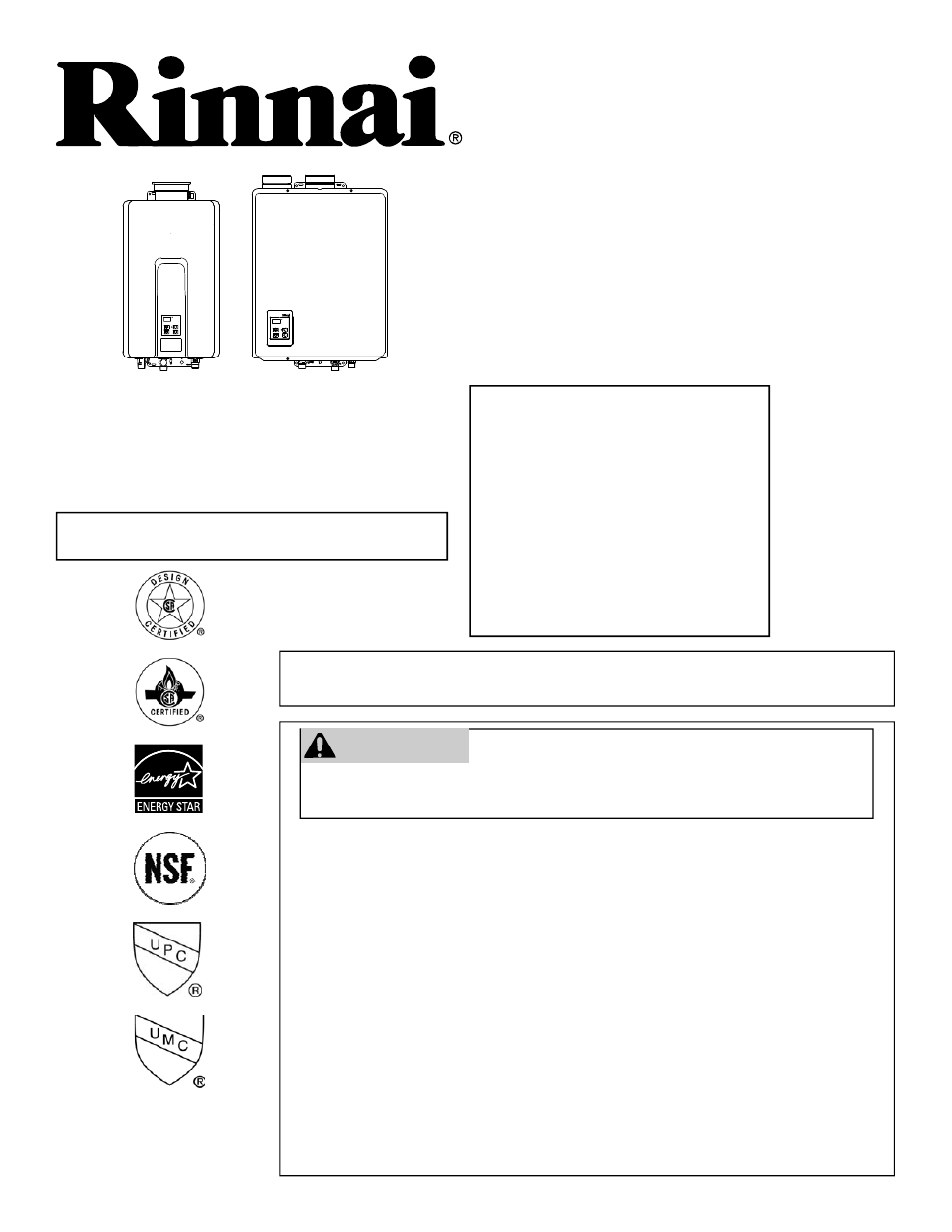 Rinnai Rl94i User S Manual Free Pdf Download 72 Pages