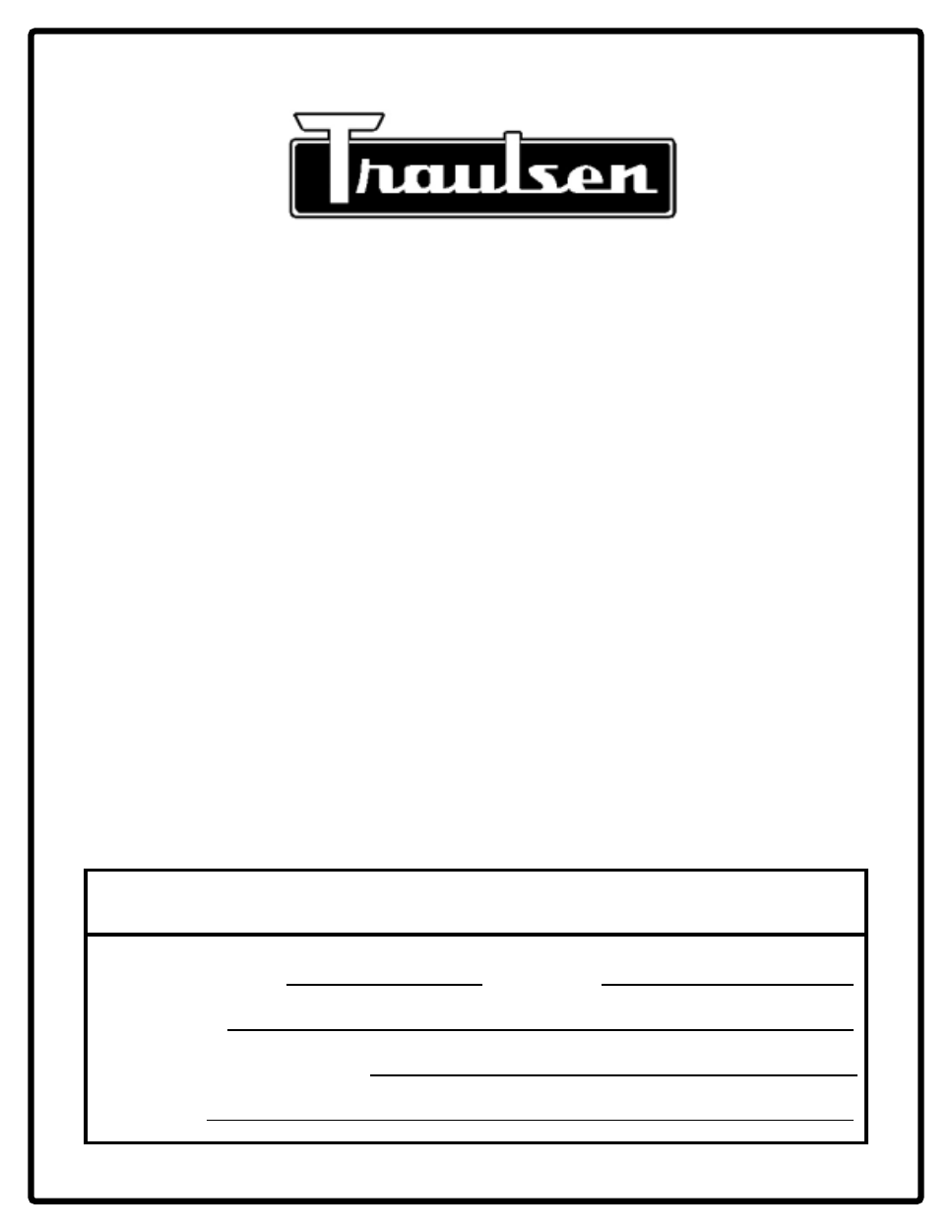 Traulsen Freezer Wiring Schematic