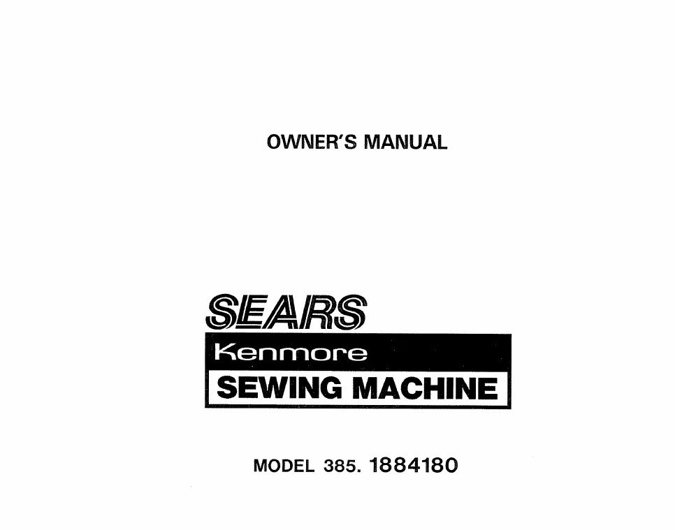 sears kenmore 385 1884180 user s manual free pdf download 75 pages rh manualagent com owners manual sears kenmore refrigerator sears refrigerator manual kenmore elite