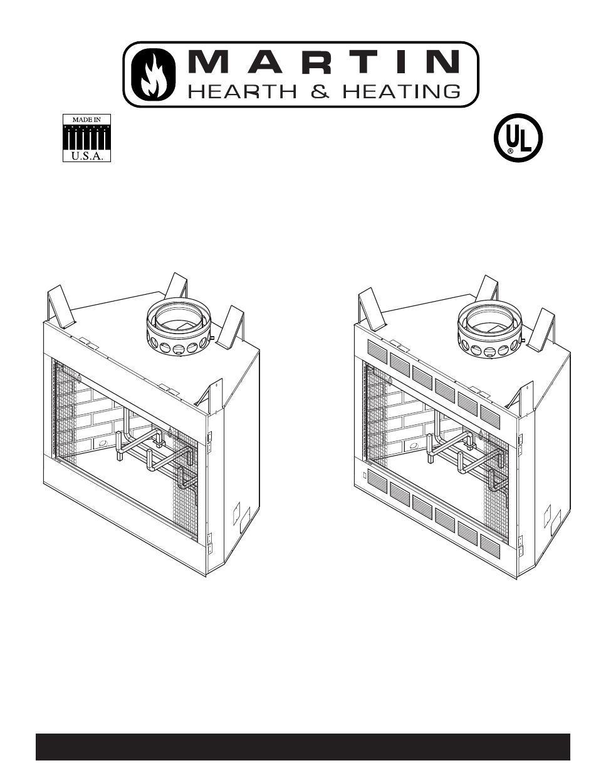 Martin Fireplaces 400bwbca User U0026 39 S Manual
