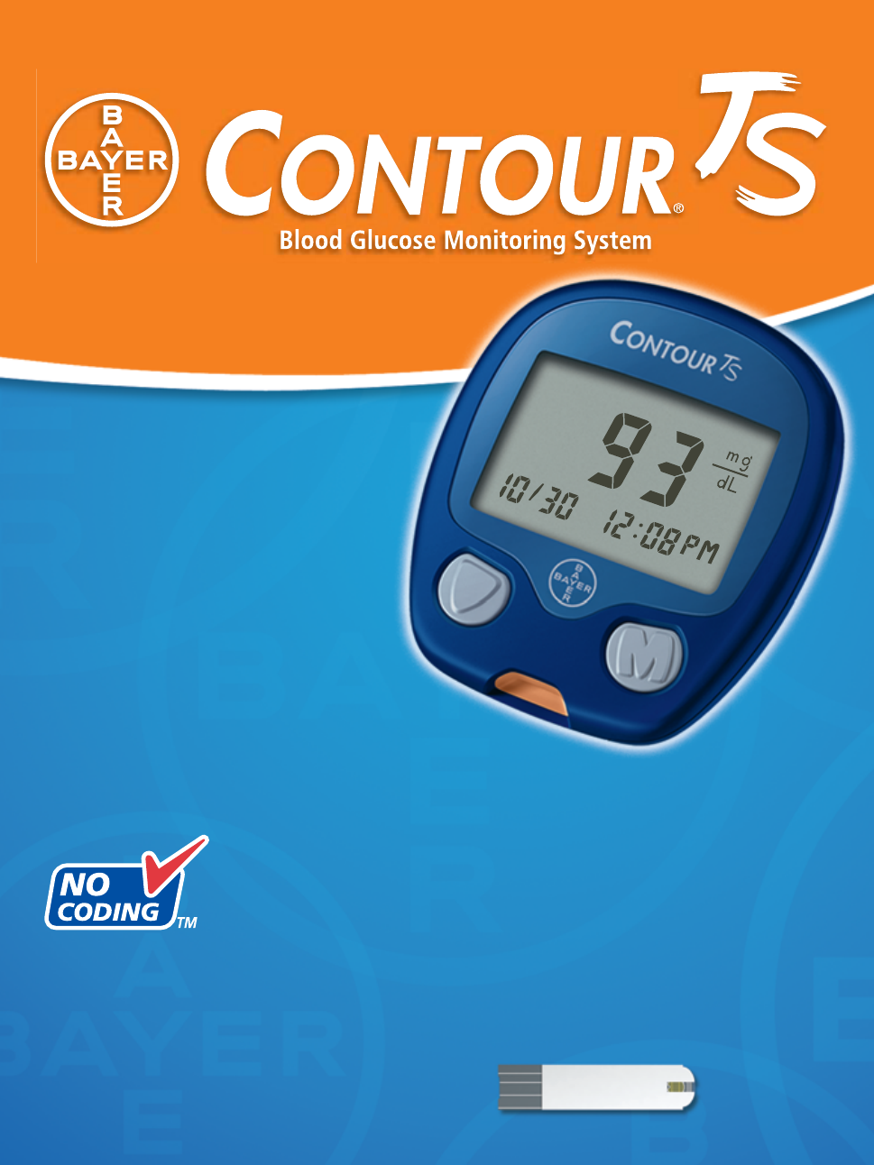 bayer healthcare contour ts user s manual free pdf download 35 pages rh manualagent com bayer contour ts user guide Bayer Contour Blood Glucose Monitoring System