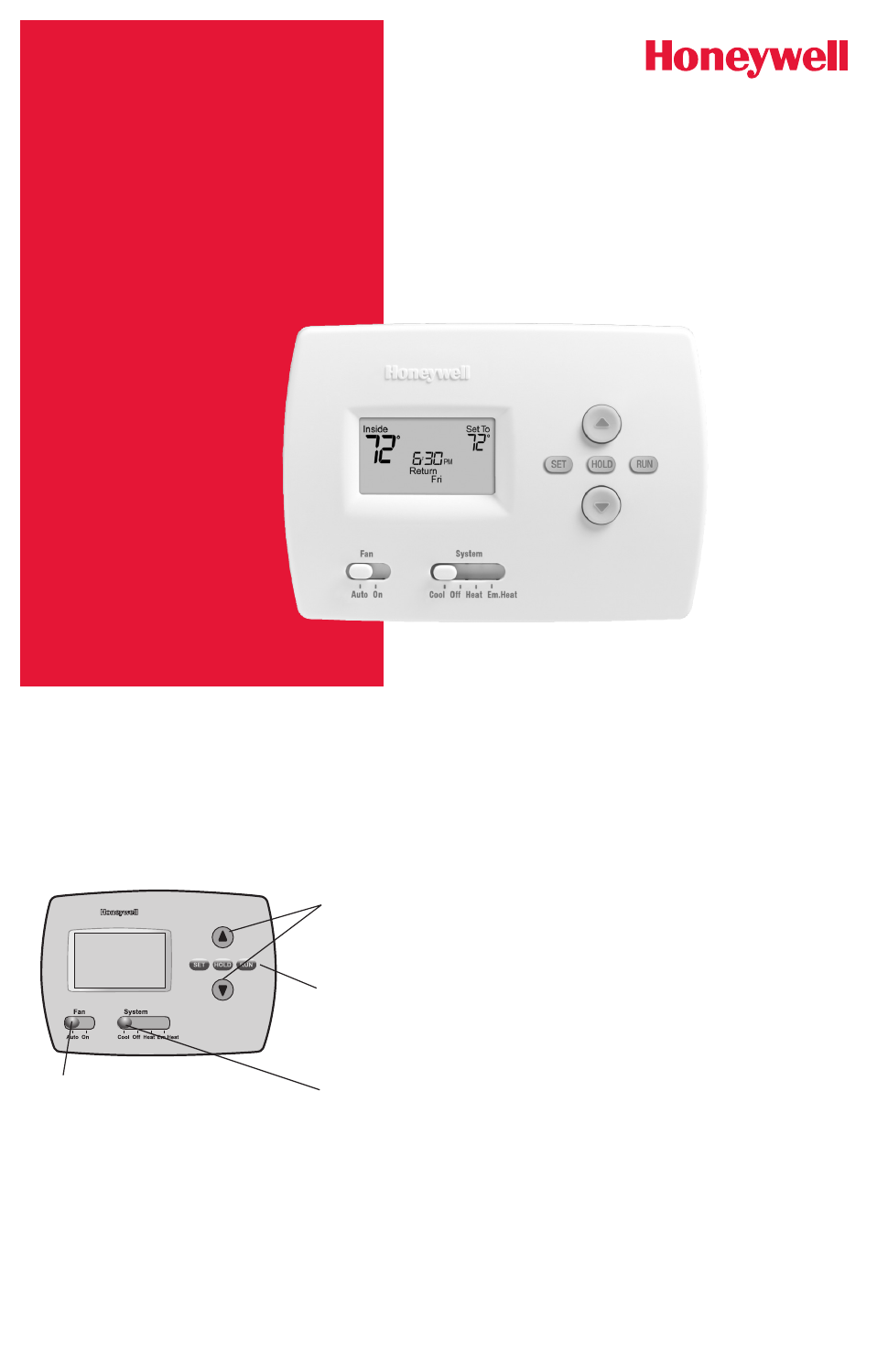 Honeywell Th4210d1005 Owners Manual Free Pdf Download 24 Pages Line Voltage Thermostat Find The Best Volt For Your Background Image