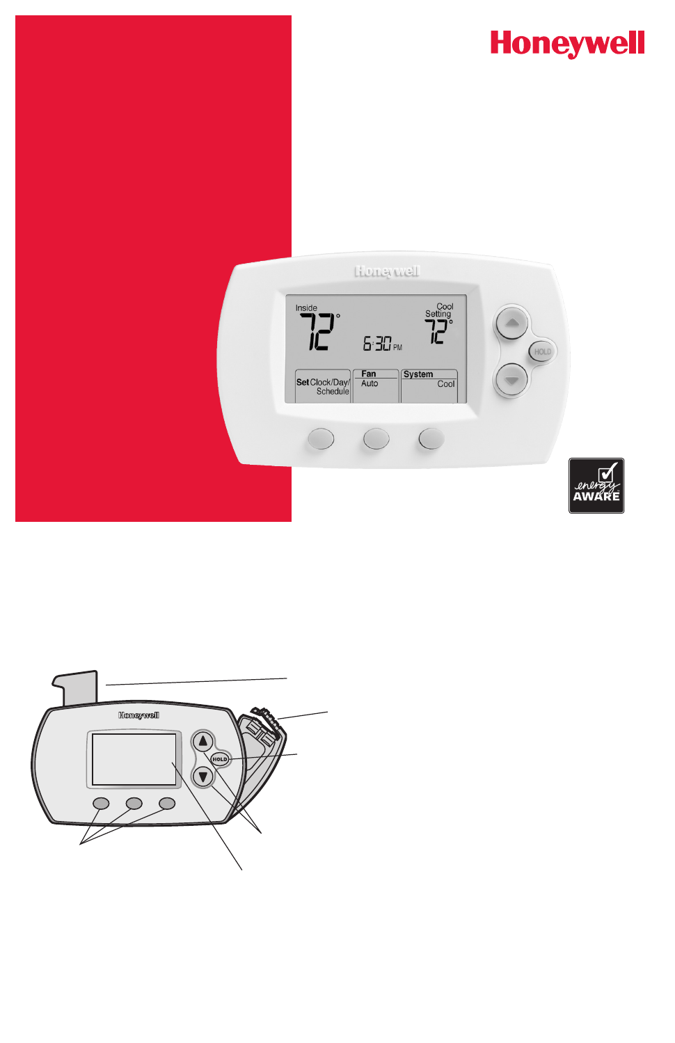 Honeywell Th6220d1002 Owners Manual Free Pdf Download 24 Pages Thermostat Instructions Guide Example 2018 Background Image