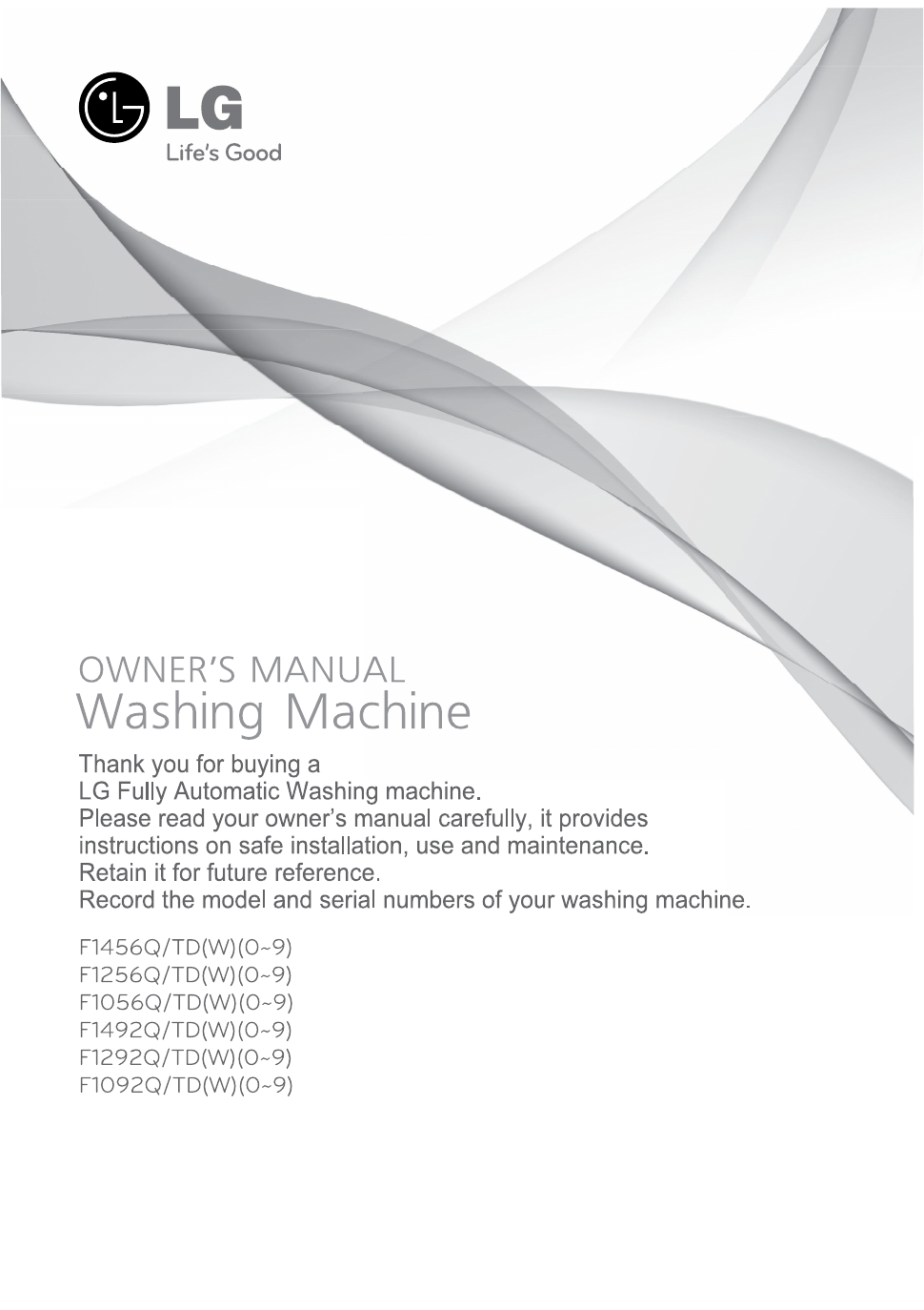 ... Array - lg f1256qd owner u0027s manual free pdf download 34 pages rh  manualagent com
