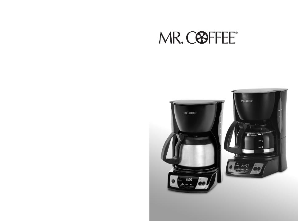 Mr. Coffee bvmc-sjx36gt manuals.