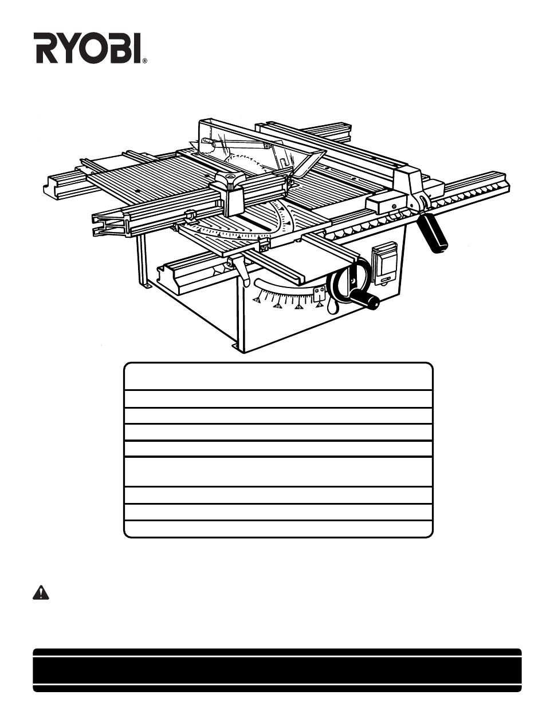 ryobi bt3000 owner s manual free pdf download 48 pages rh manualagent com Ryobi P2102 Manuals Ryobi BT251 Manual