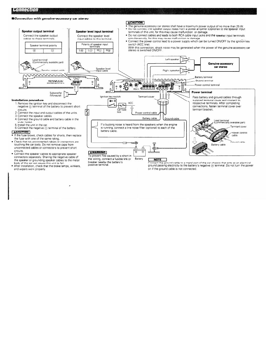 ... Array - kenwood kac 716 owner u0027s manual page 4 free pdf download 4  pages rh