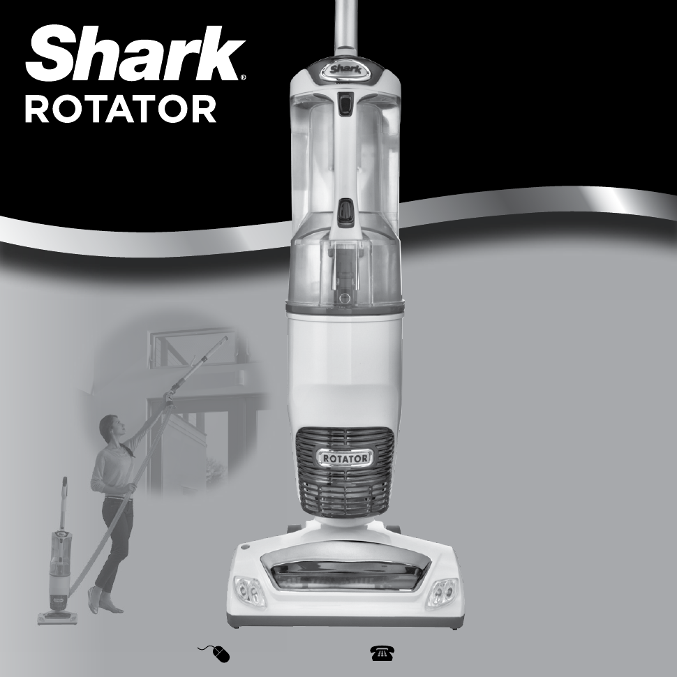 Shark Shark Rotator Professional With Xl Reach Nv402