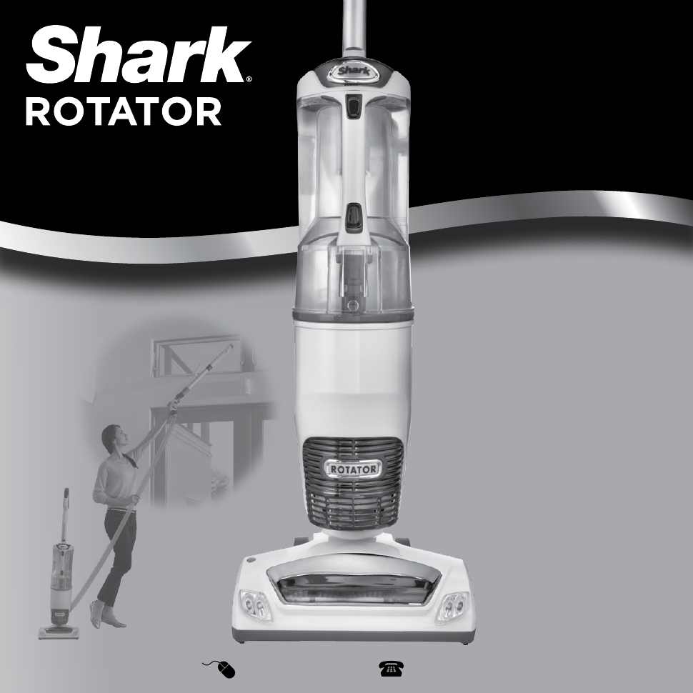Shark Rotator Professional Vacuum W Accessories Nv400 Manual Guide