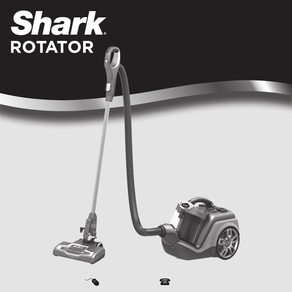 Shark Shark Rotator Powered Lift Away Canister Vacuum