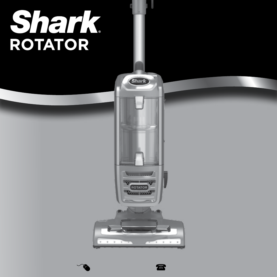 Shark Nv400 Rotator Bagless Upright Professional Vacuum Gift Sennheiser