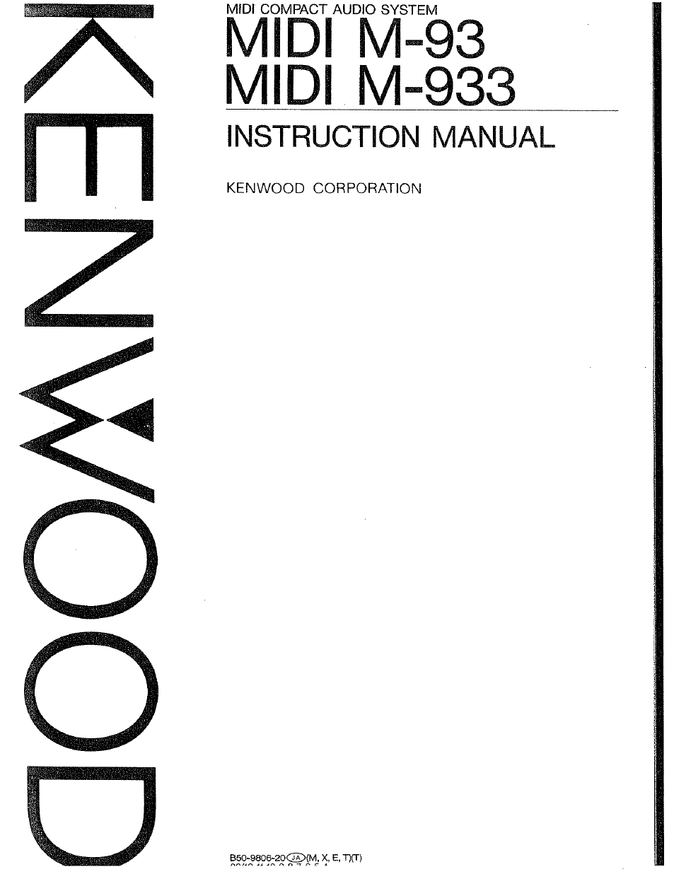 kenwood t 93l owner s manual free pdf download 56 pages rh manualagent com kenwood owners manual for tx3410d kenwood ddx370 owners manual