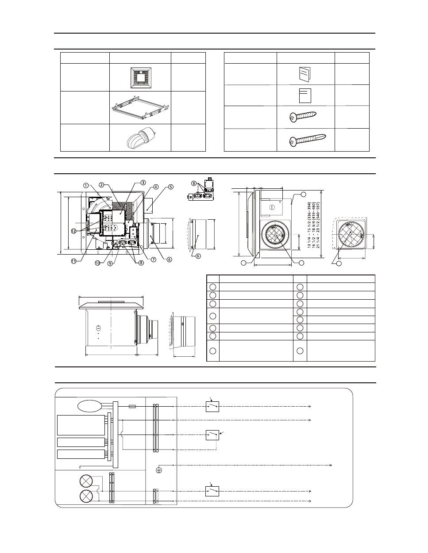 Panasonic Fv-05-11vk1 Installation Manual