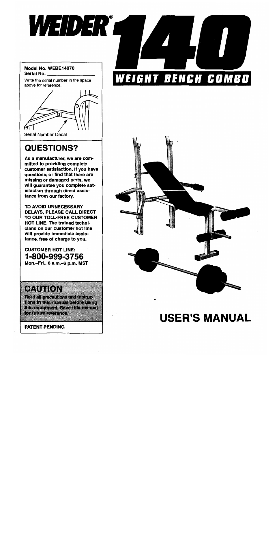 Weider Pro 4300 Manual Ebook 1995 Gm Fleetwood Brogh 57 Fuse Box Diagram English Page 25 Array 148 Weight Bench Www Topsimages Com Rh