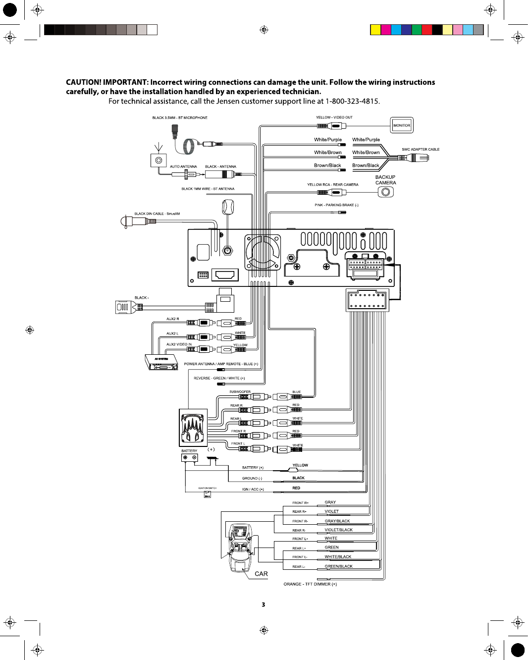 Jensen Vx7012 Wiring Diagram Data Wiring Diagrams \u2022 Quadrafire Wiring  Diagram Jensen Dvd Wiring Diagram
