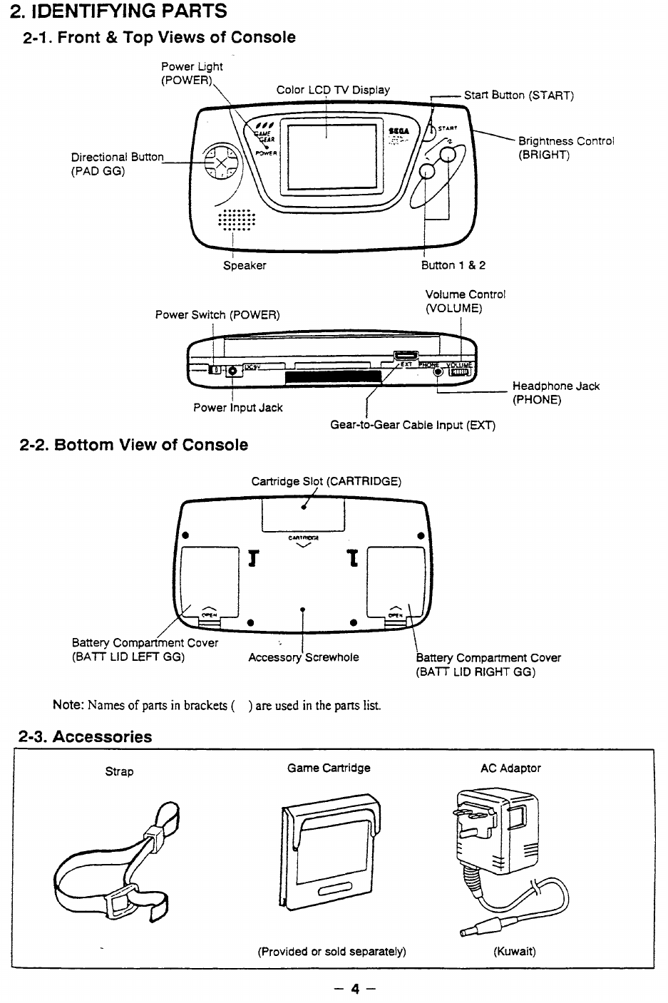 background image Array - sega game gear va1 service manual page 4 free pdf  download 24 rh manualagent