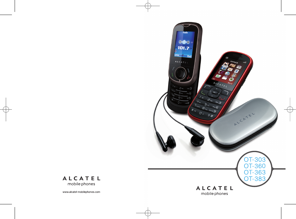 Alcatel OT-363 Instruction Manual - Free PDF Download (39 Pages)