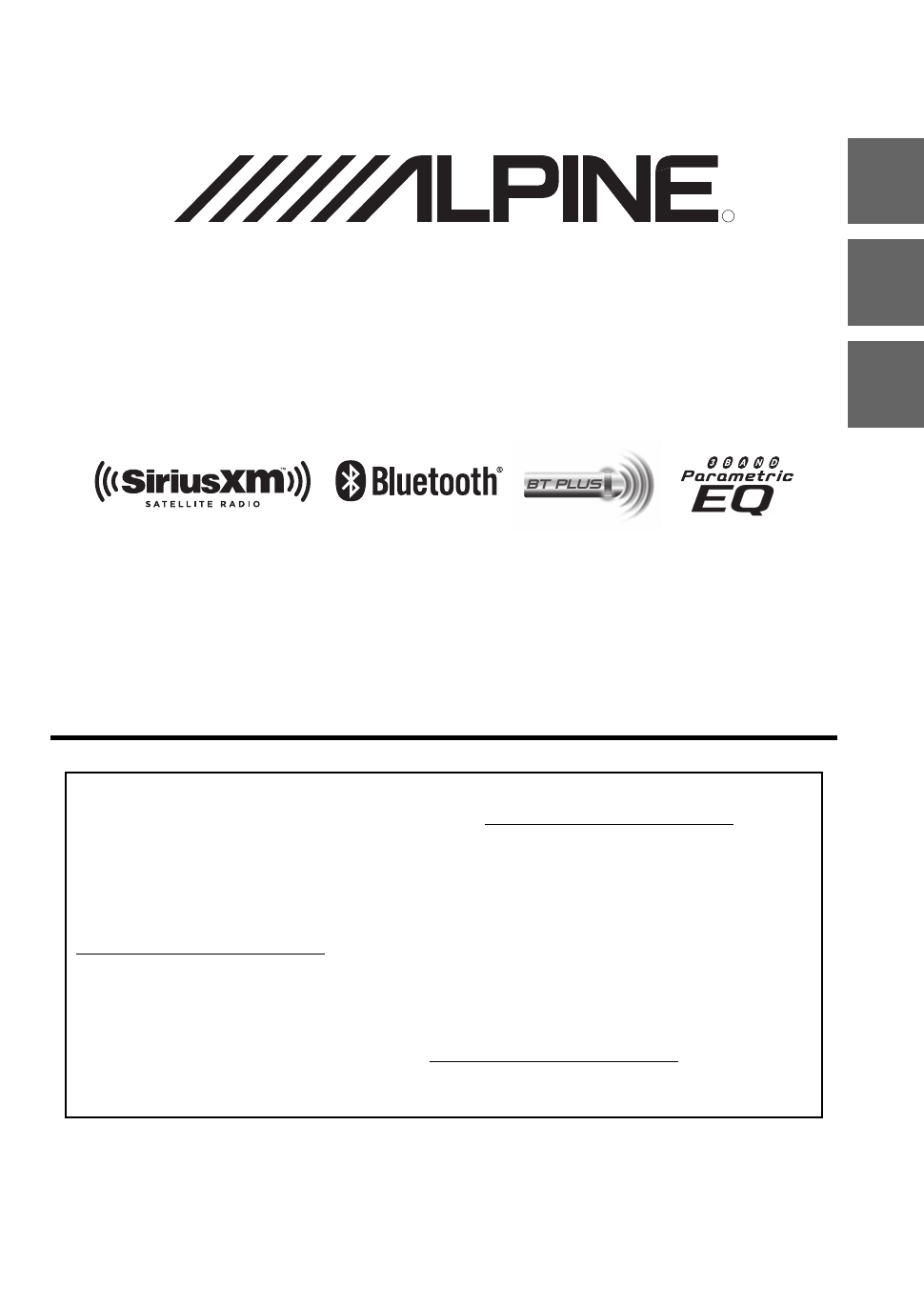 alpine cde sxm145bt owner s manual free pdf download 47 pages rh manualagent com
