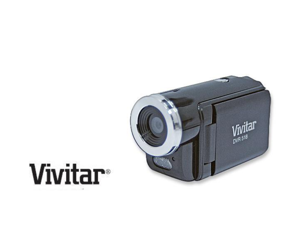 vivitar dvr 518 user s manual free pdf download 73 pages rh manualagent com Vivitar Compact DVR vivitar dvr 810hd manual download