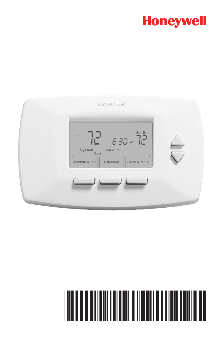 Honeywell Thermostat Rth7500d1007 Manual Good Owner Guide Website Setup Instructions Rth7400d1008 Quick Installation Free Pdf Download Rh Manualagent Com Model
