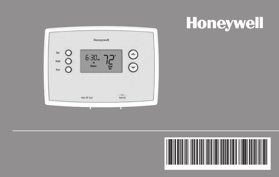 honeywell rth221 operating manual online pdf free download 48 pages rh manualagent com Honeywell Thermostat RTH2300 Honeywell RTH3100C