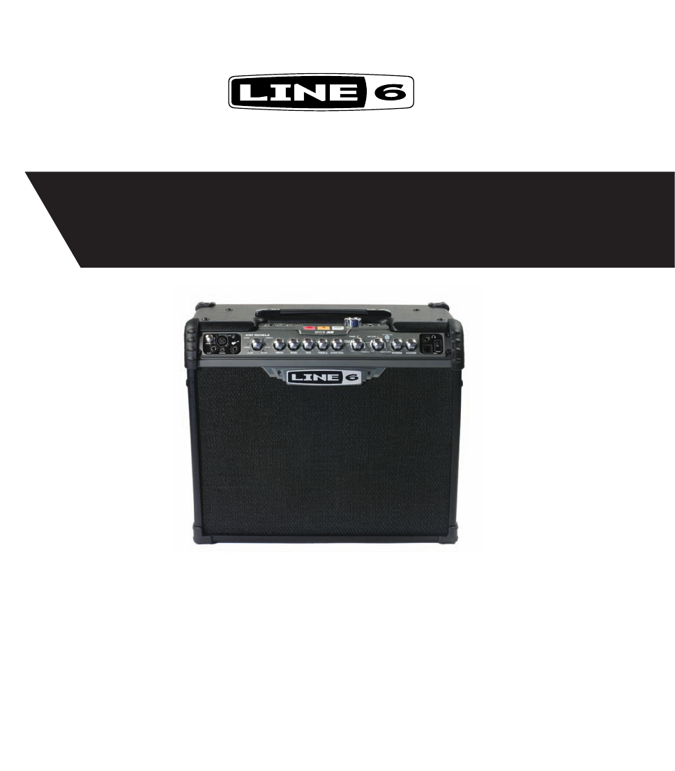 Line 6 Spider Jam Owner's Manual - Free PDF Download (27 Pages)