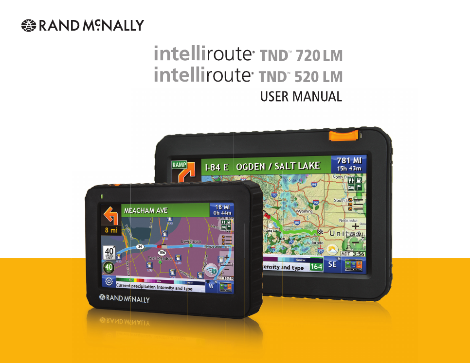 Intelliroute tnd 520