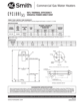 A.O. Smith BTX-100 Specification Sheet - 2
