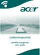 Acer CoPilot Pocket PC6 User Guide - 1