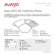 Avaya B179 SIP Conference Phone Quick Reference Guide - 1
