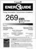 Bosch SHP865WD5N Energy Guide - 2