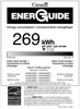 Bosch SHE878WD5N Energy Guide - 2