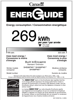Bosch SHV89PW53N Energy Guide - 2