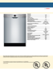 Bosch SHEM3AY55N Specification Sheet - 2
