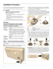 Bosch NGM8646UC Installation Instructions - 6