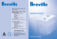 BREVILLE BAKERS OVEN BBM300 Instructions and Recipes - 1