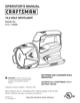 Craftsman 315.11593 Operator