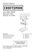 Craftsman 137.219 User